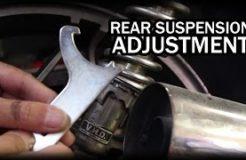 Rear Suspension Adjustment CBR 250R Motorcycle