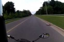 Liquid Image Ego 727 Sport Action Cam Test - CBR125R