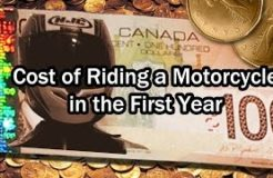 Cost of Owning & Riding a Motorcycle in First Season