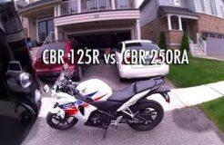 Honda CBR125R vs CBR250R Comparison Review