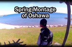 Sightseeing 20 Places in Oshawa 1 Spring Day - CBR 250R Motorcycle