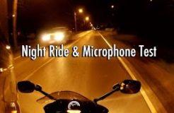 BlackBerry Premium Microphone & Parrot App Night Ride Test