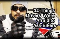 10 Things Drivers Were Afraid To Ask Bikers