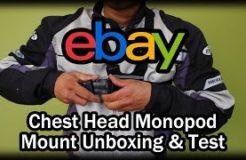 Ebay GoPro Chest Head Monopod Mount Accessories Unboxing