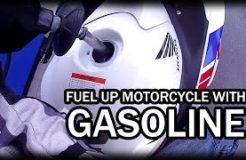 How to Fuel Up a Motorcycle from a Gas Can or a Gas Pump