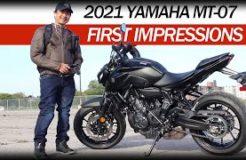 2021 Yamaha MT-07 a Short Rider's First Impressions