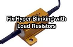 Fix Hyper Flash Blinking with Load Resistors - CBR250R