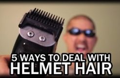 How To Cope With Motorcycle Helmet Hair