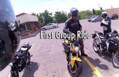 My First Group Ride on Honda CBR125R